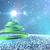 クリスマスツリー · 幸せ · 雪 · 緑 · 冬 · 背景 - ストックフォト © klss