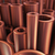 heavy metallurgical industrial products copper pipes stock photo © klss