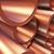 réz · csövek · 3D · renderelt · kép · raktár · mélységélesség - stock fotó © klss