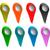 piros · pont · térkép · tő · absztrakt · utazás - stock fotó © klss