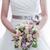 novias · flores · vestido · detalle · ramo · boda - foto stock © kmwphotography