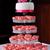 pembe · fincan · kekler · düğün - stok fotoğraf © KMWPhotography