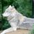 farkas · néz · egyedüli · profil · kutya · állat - stock fotó © KMWPhotography