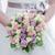 novias · flores · primer · plano · ramo · rosa · púrpura - foto stock © KMWPhotography