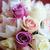 novias · ramo · púrpura · rosa · novia · matrimonio - foto stock © KMWPhotography