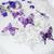 esküvői · torta · fehér · lila · pillangó · dekoráció · torta - stock fotó © KMWPhotography