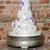 bruidstaart · witte · roze · marsepein · bloem · decoratie - stockfoto © kmwphotography