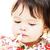 piccolo · ragazza · lavaggio · denti · acqua · bambino - foto d'archivio © kmwphotography