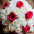 novia · floral · novias · rojo - foto stock © KMWPhotography