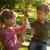 very happy childrens on a swing stock photo © koca777