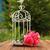 decorativo · gabbia · fiori · cerimonia · di · nozze · amore · natura - foto d'archivio © koca777