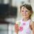 girl eating ice cream stock photo © koca777