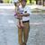grand-père · petite · fille · route · hommes · âgées · liberté - photo stock © koca777