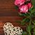 düğün · güller · çiçekler · kalpler · bağbozumu · pembe - stok fotoğraf © koca777