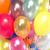 színes · születésnapi · buli · léggömbök · izolált · fehér · keret - stock fotó © konradbak