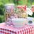 ízletes · egészséges · reggeli · kert · nyár · étel - stock fotó © konradbak