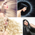multiple picture of a lady with various coiffures stock photo © konradbak