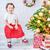 fogad · ajándék · mikulás · portré · aranyos · kislány - stock fotó © konradbak