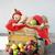 cute · snem · polu · jabłka · dziewczyna - zdjęcia stock © konradbak