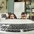 two funny computer scientits staring at a keybord stock photo © konradbak
