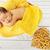 inocente · nino · amarillo · manta · retrato · adorable - foto stock © konradbak