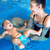 young mother and baby relaxing in the swimming pool stock photo © konradbak