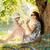 szczęśliwy · młodych · matka · córka · piknik · lata - zdjęcia stock © konradbak