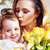 матери · целоваться · ребенка · поцелуй · улыбаясь - Сток-фото © konradbak