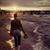 小さな · 女性 · リラックス · ビーチ · 日没 · 若い女性 - ストックフォト © konradbak