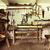 an old repair room in rustic house stock photo © konradbak