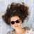 mosolyog · család · napszemüveg · pléd · nyár · ünnepek - stock fotó © konradbak
