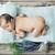 cute · bebé · dormir · relleno · osito · de · peluche · dormitorio - foto stock © konradbak