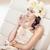 portret · fabelachtig · brunette · jonge · dame · jonge · vrouw - stockfoto © konradbak