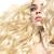 senhora · retrato · jovem · morena · cinza · mulher - foto stock © konradbak