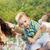 güzel · anne · oynama · oğul · battaniye · küçük - stok fotoğraf © konradbak