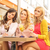 pretty women at the meeting stock photo © konradbak