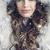 зима · моде · женщину · шуба · элегантный · брюнетка - Сток-фото © konradbak
