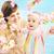lächelnd · mom · halten · Tochter · wenig · Frau - stock foto © konradbak