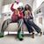 朋友 · 看電視 · 一起 · 婦女 · 男子 · 顏色 - 商業照片 © konradbak