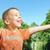 cute little boy enjoying the summer stock photo © konradbak