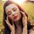 sensueel · dame · Rood · kleur · jonge · meisje - stockfoto © konradbak