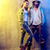 portrait of two talented hip hop dancers on a concrete backgroun stock photo © konradbak