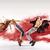 talented young dancers sprinkling red dust stock photo © konradbak