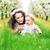 anne · kız · tadını · çıkarmak · ilk - stok fotoğraf © konradbak