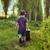 lány · hordoz · tűzifa · vidéki · lány · vidék · gyermek - stock fotó © konradbak