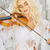 красивая · женщина · скрипки · молодые · играет · музыку - Сток-фото © konradbak