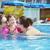 moeder · dochter · zwemmen · zee · familie · kinderen - stockfoto © konradbak
