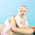 Mutter · Tochter · funny · aussehen · Gesichter - stock foto © konradbak
