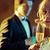 lachend · paar · datum · huwelijk · liefde · Rood - stockfoto © konradbak