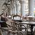 lépcső · étterem · sötét · fekete · korlát · fal - stock fotó © konradbak